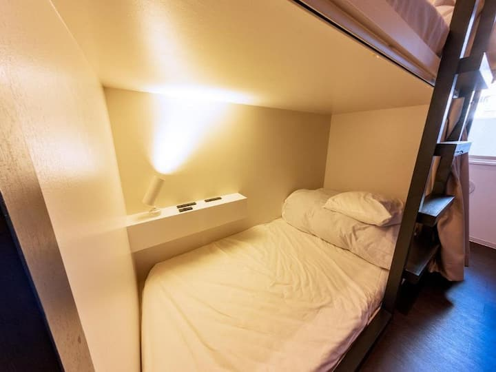 5mins->Minamisenju Sta/1 bunk bed in Girl Dorm