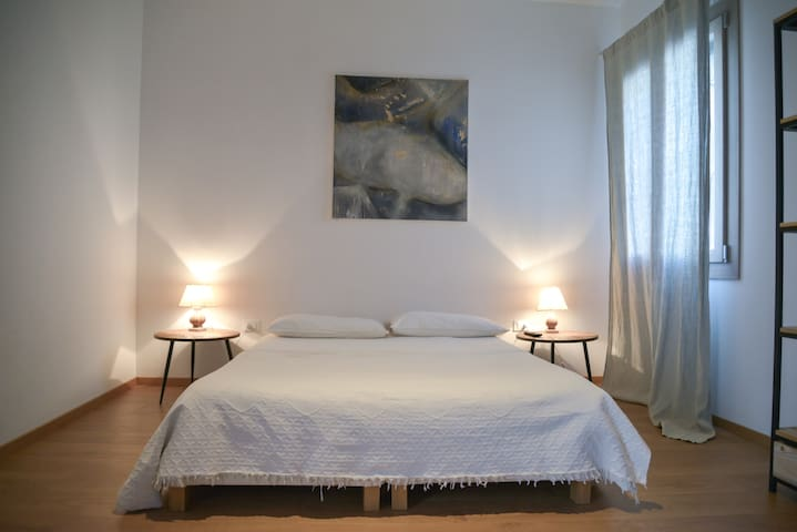 Venice's heart, apartment 2 bedrooms, AC,free Wifi