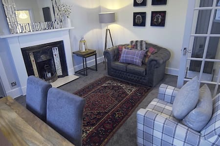 Luxury Inverness central apartment private parking