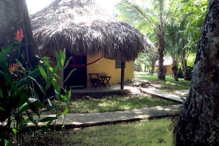 Cabaña en la Selva de Palenque 4p 1 habitación - Palenque - 牧人小屋