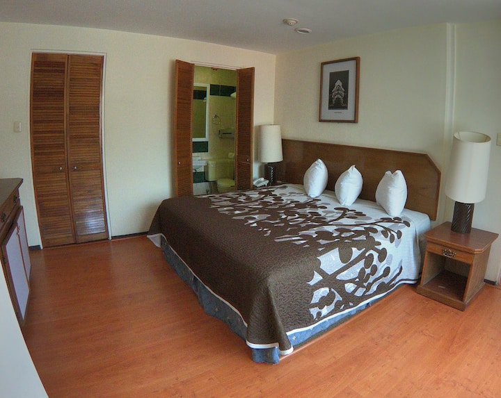 Cómodo departamento en Hotel Posada Vista Bella