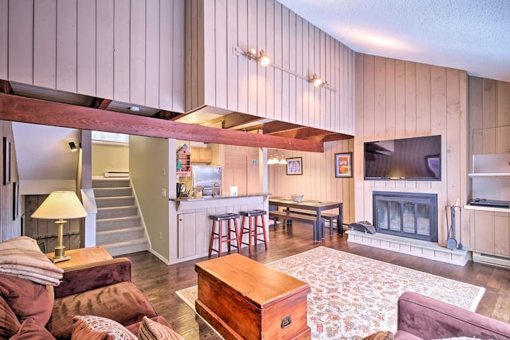 NEW! Mountainside Windham Townhome - Walk to Lodge