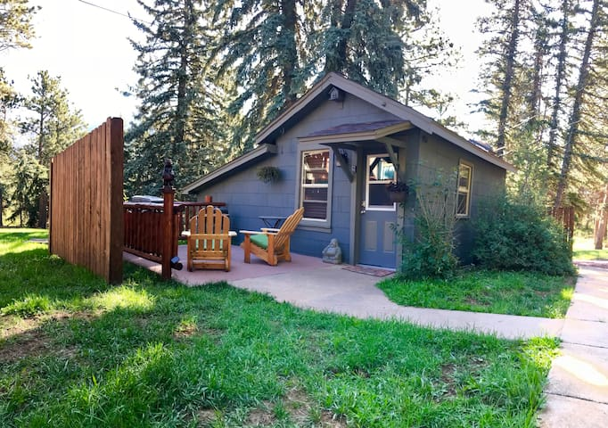 There is a 6 foot privacy fence that lines your patio- making sure a great private space!