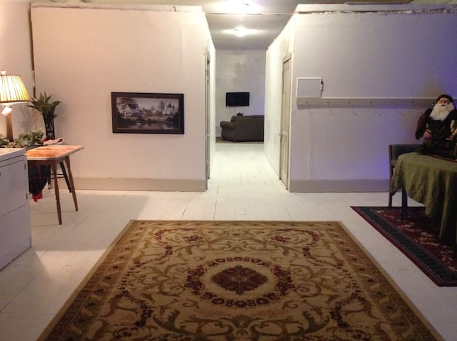 Downtown Two Bedroom Loft and large Open Areas
