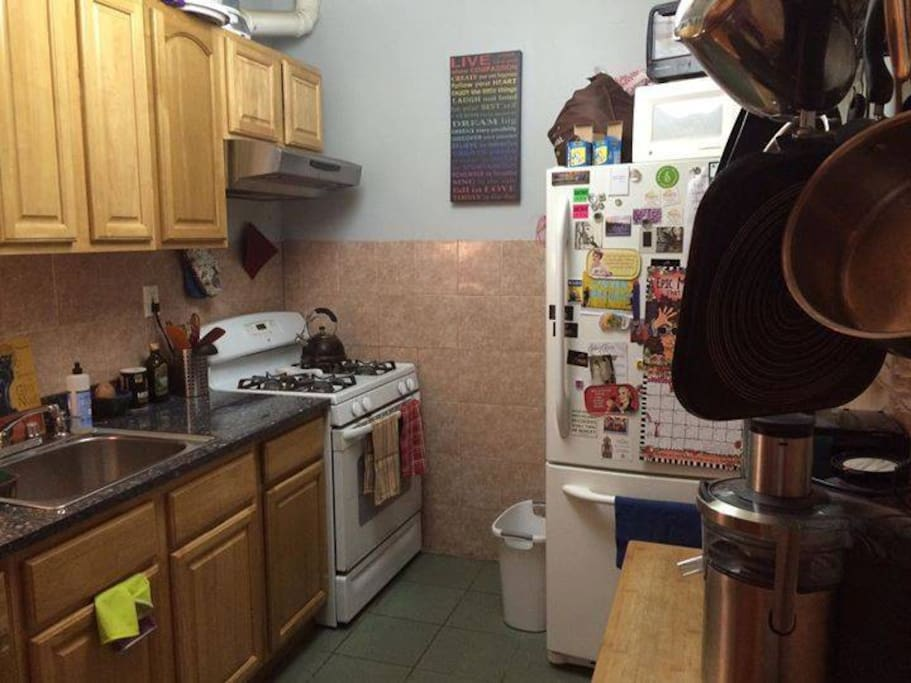 Kitchen, full equipped