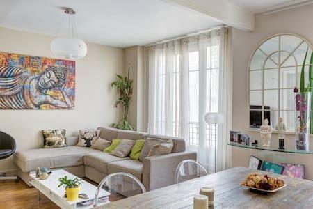 Bel appartement lumineux près de Paris (56m2) - Courbevoie