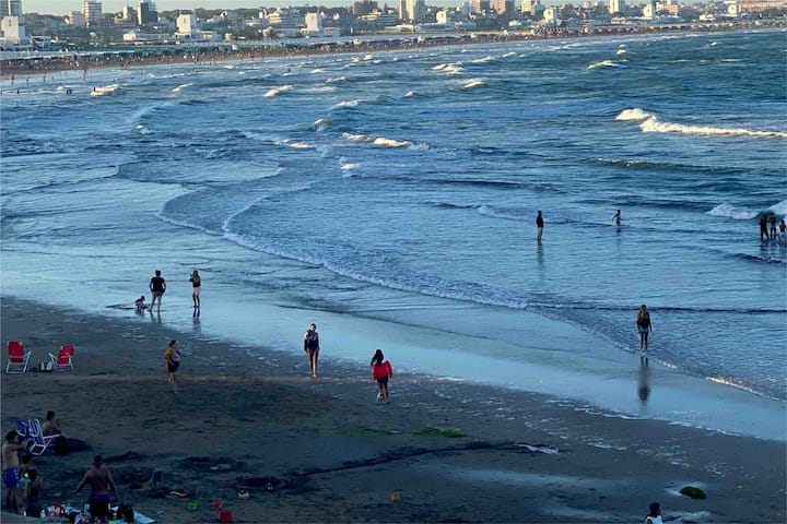 3 amb con Terraza al Mar, MDQ