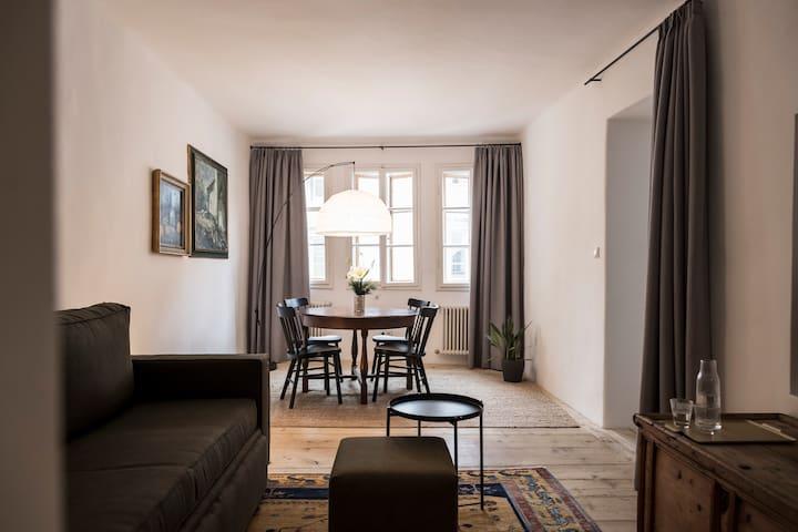 Wohnung im historischen Stadtzentrum von Bozen