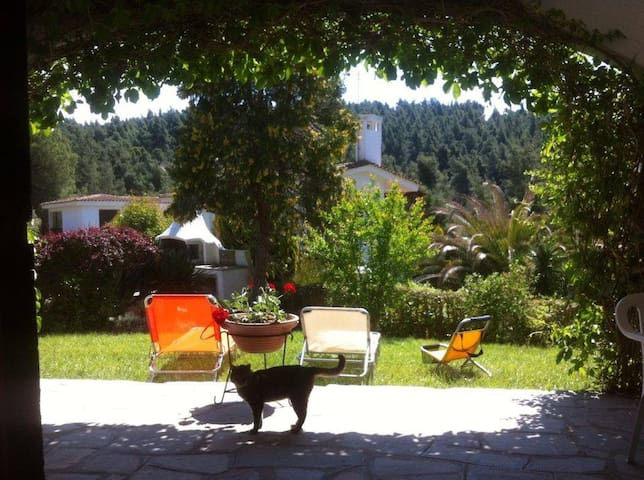 Relaxing at a mountain-sea villa - Elani - Villa