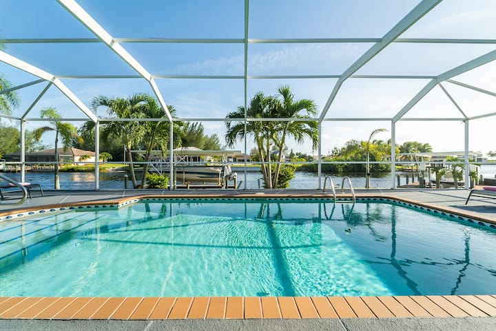 Roelens Vacations - Villa Nature View - Cape Coral