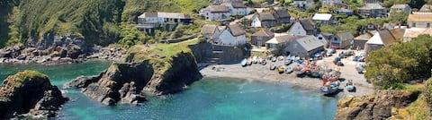 Pebbles,  yards from beach & inn