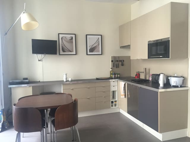 Modern, well-located and fully-equipped apartment