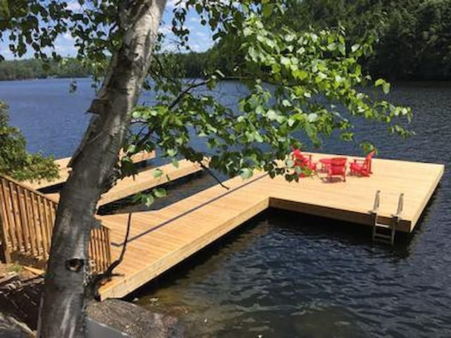 Main dock is ready for your boat