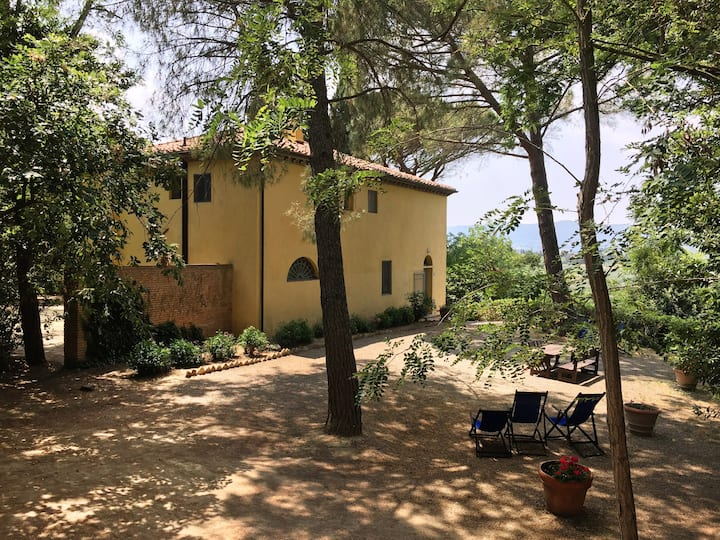 Typical tuscan villa, great charm with swimming