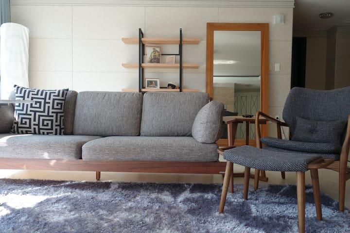 Clean and quiet apartment near the park - Chaekhyanggi-ro, Paju-si - Apartament