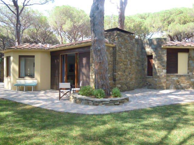 Villa in pineta - Castiglione della Pescaia (GR) - Huvila