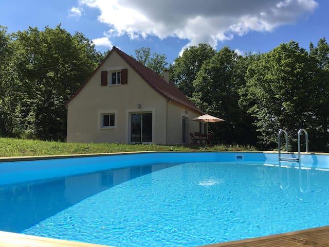 Brand New House-Between Rocamadour & Sarlat
