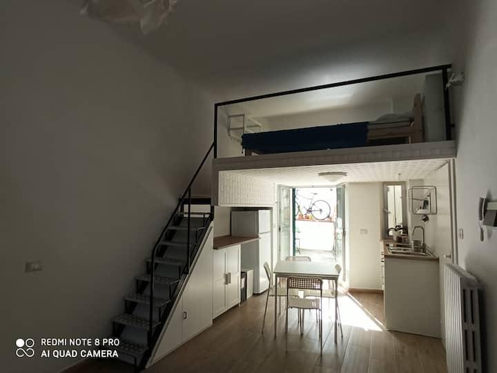 Appartamento in pieno centro con terrazza
