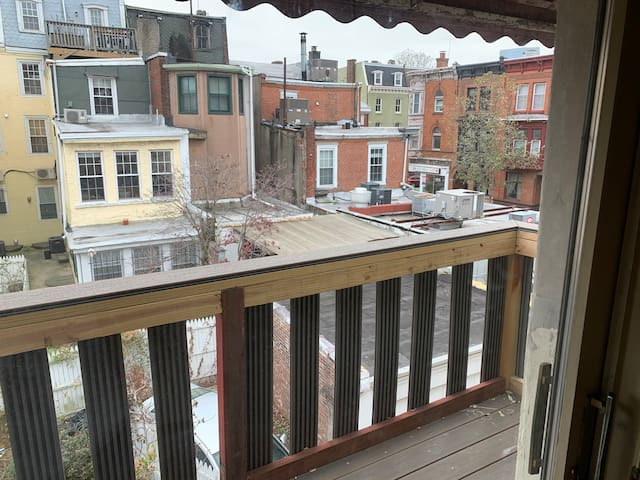 Fitler Square Apartment with Beautiful Balcony