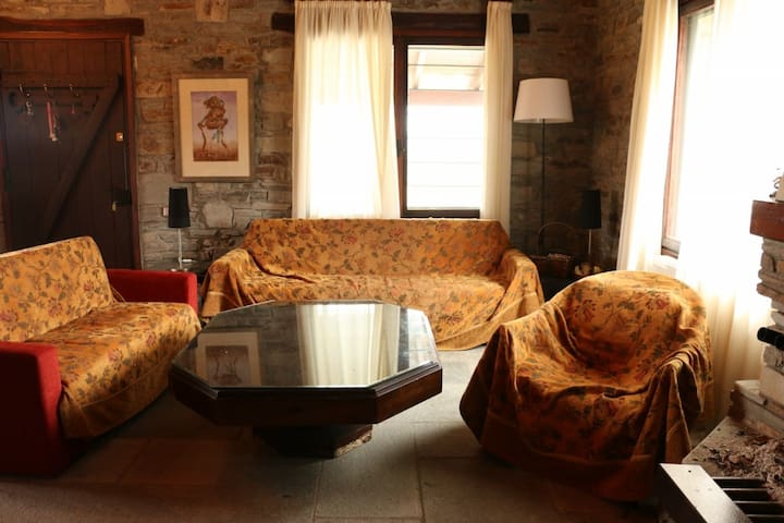 Olive 3-Bdrm Farm Villa in a 40.000sq Estate - Kavala - House