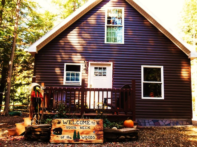 Your Neck of the Woods Cabin Rental - Taberg - Cabin