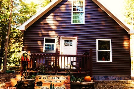 Your Neck of the Woods Cabin Rental - Taberg