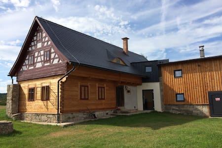 Stylový penzion, chalupa, Lipná u Hazlova - Lomamökki