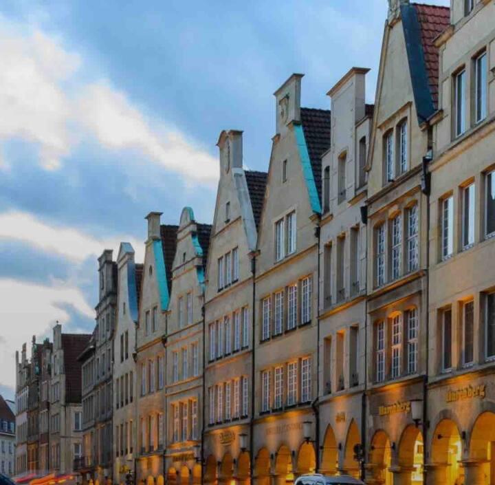 Große Wohnung in Münster zu vermieten