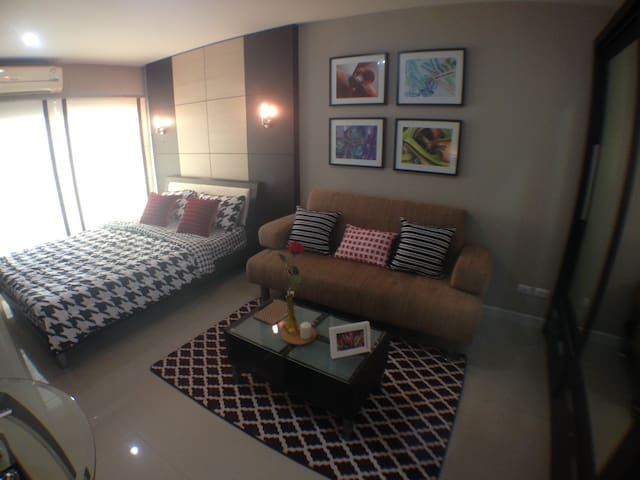 Luxury&near BTS,  Metropark Sathorn - Bangkok - Appartement