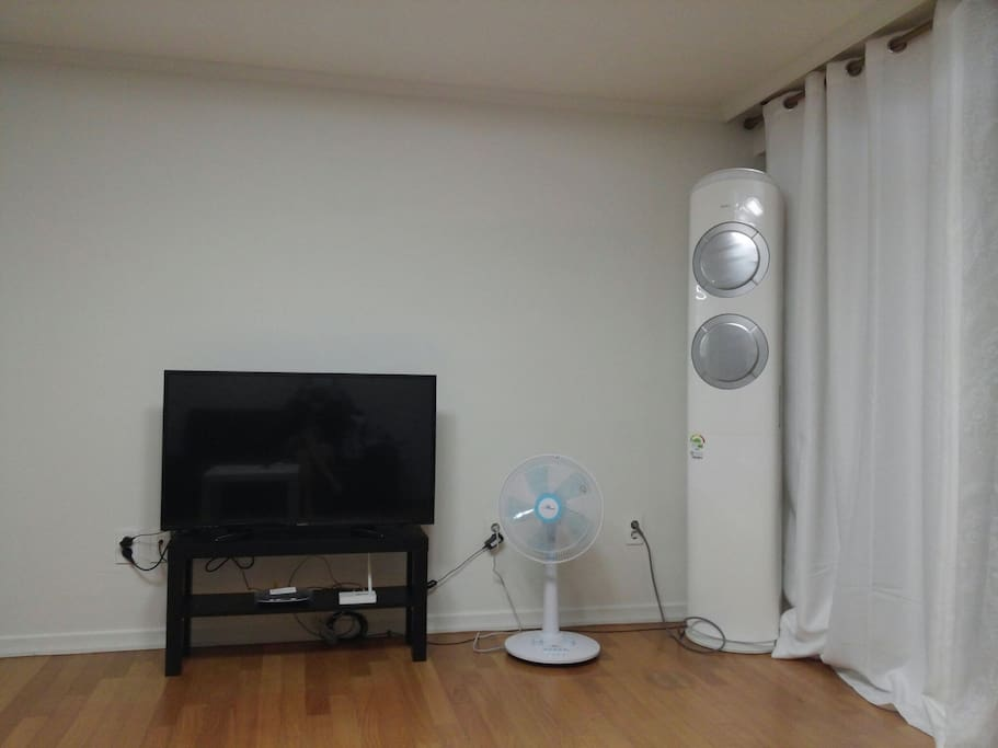 air conditioner in the living room