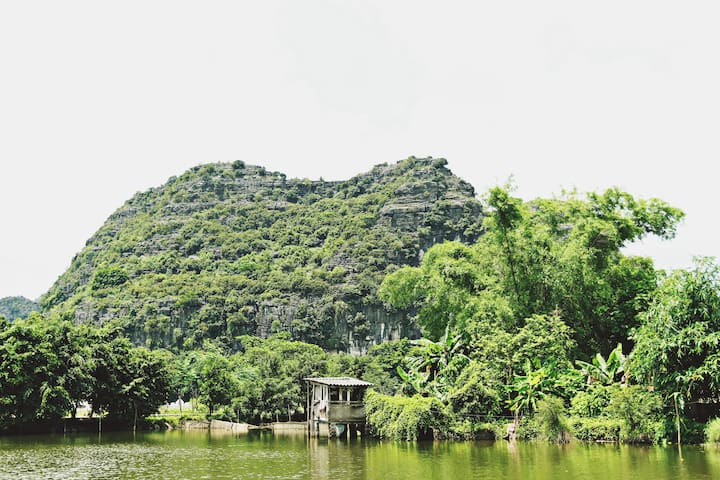 Mountain view Greenland Homestay in Tam Coc
