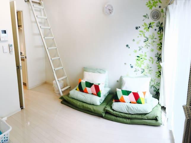 N01.Accessible place near Nagoya Sta. #101 - Nagoya-shi - Apartment