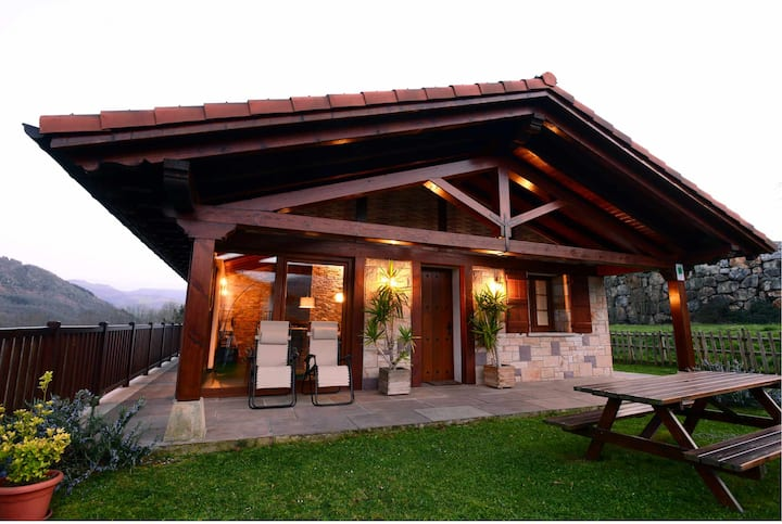 Casa Angiz I, encanto y vistas en Sunbilla