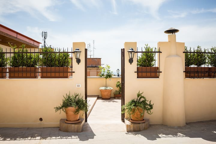 SUNNY PENTHOUSE ON TERRACE - Roma - Apartamento