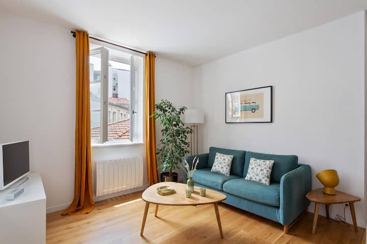 Nice Apartment - 1 bedroom - Center of Biarritz