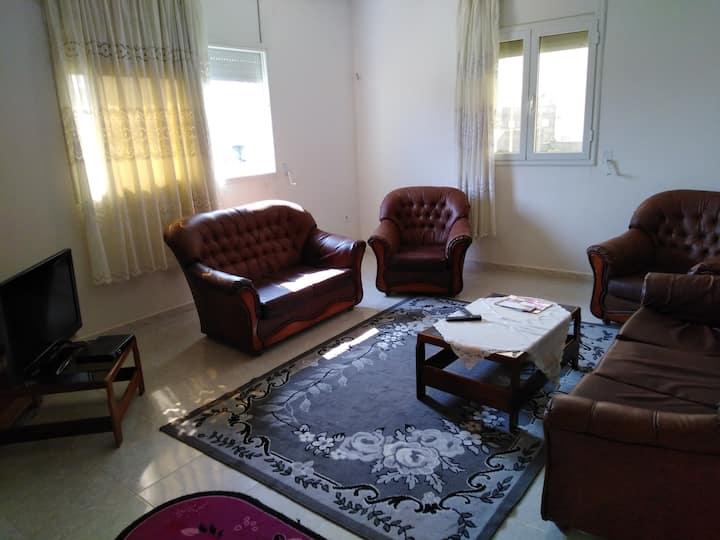 appartement meublé bien équipé près de la plage