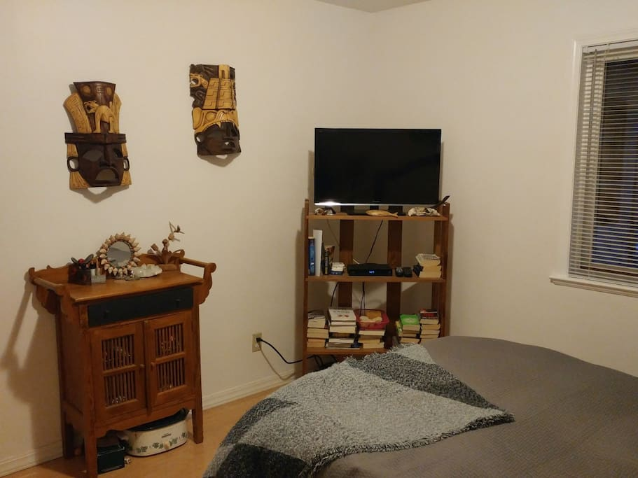 Your room with television
