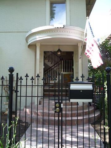 Private Apartment  In Historic Mansion