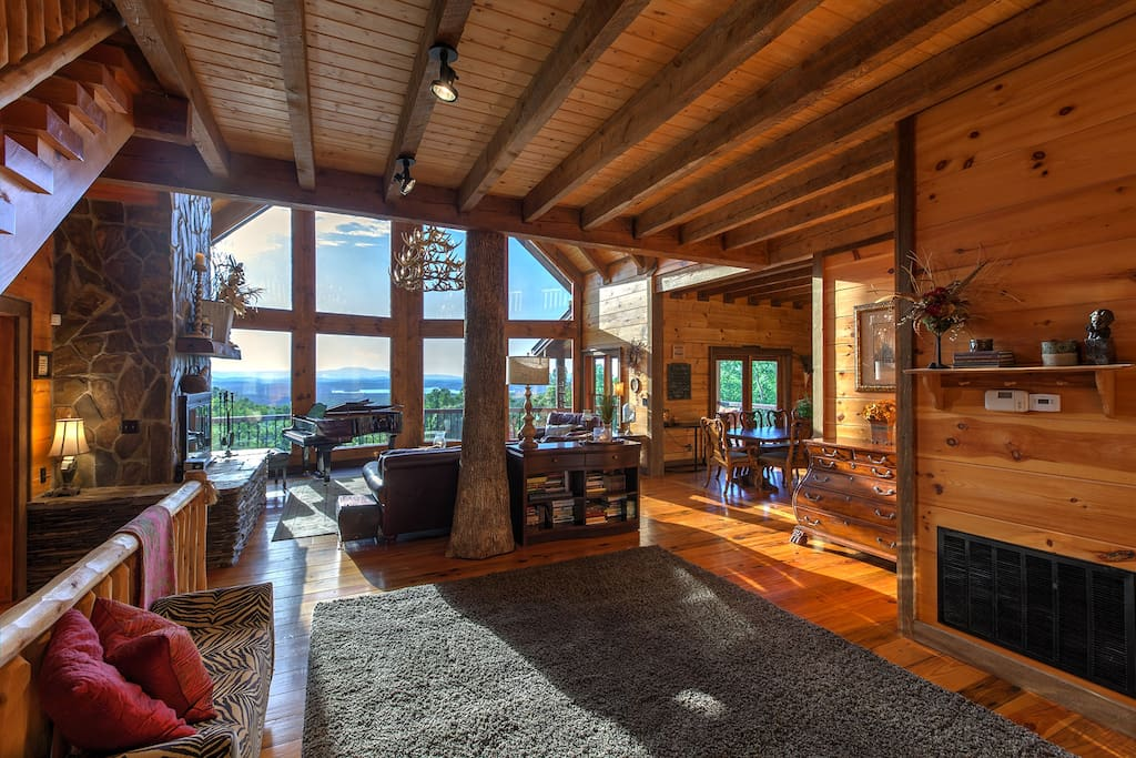 Welcoming Foyer to Luxury and VIEWS
