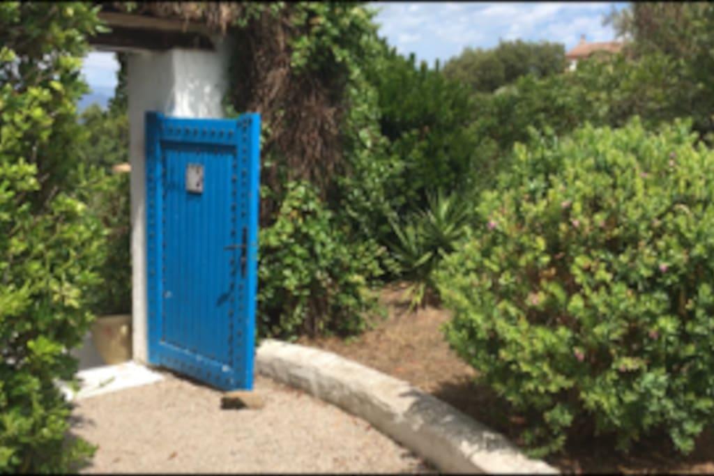 Entrée - Portillon d'accès
