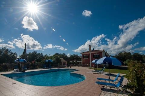 Villa Christine Shared Pool Leventis Villas