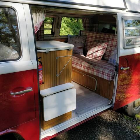 Classic VW T2 Campervan