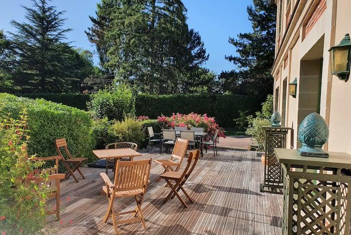 🏡 Superbe Villa avec Jardin | Hauteurs de Tourgéville | 200m² - 6pers.