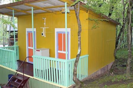 Дом в лесу в близи пляжа Бухты Инал Черного моря