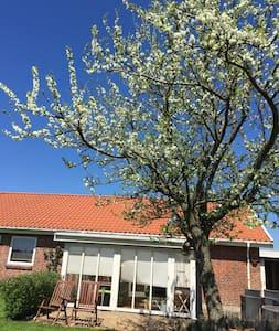 Hyggeligt hus på landet med åbne marker omkring - Silkeborg