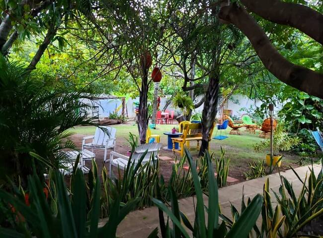 Quarto duplo na Caribessa Eco House
