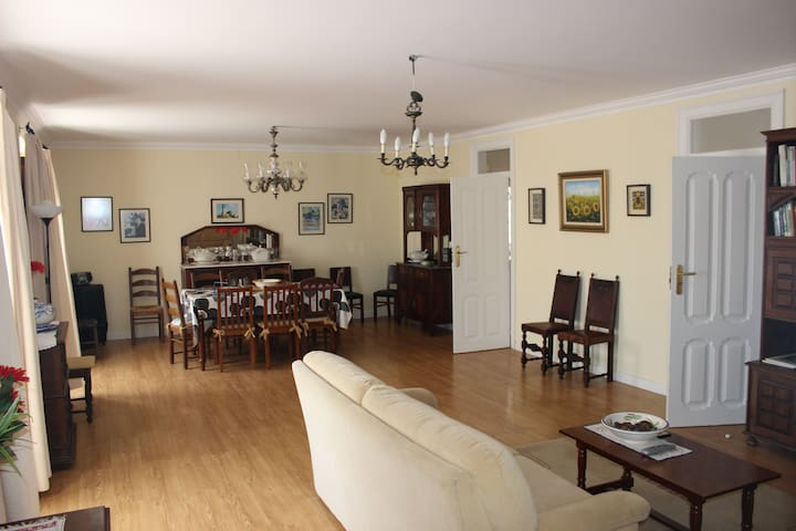 Big living and dinning room