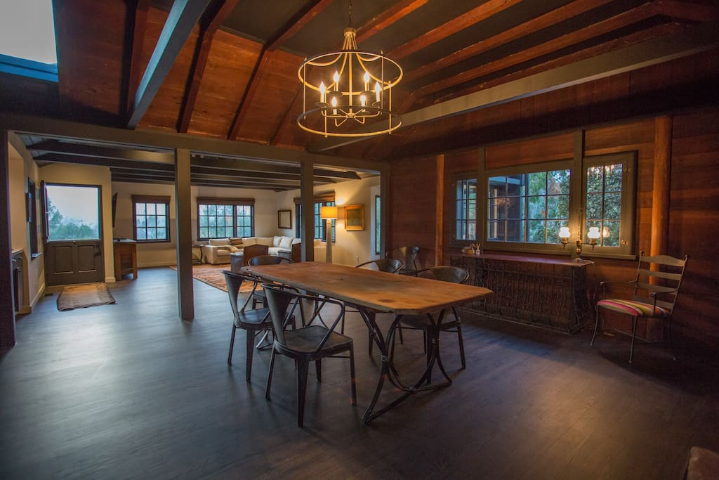 Large open lodge style space