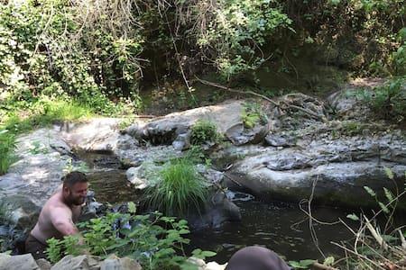 Creekside stay @ Historic TroutFarm - Felton