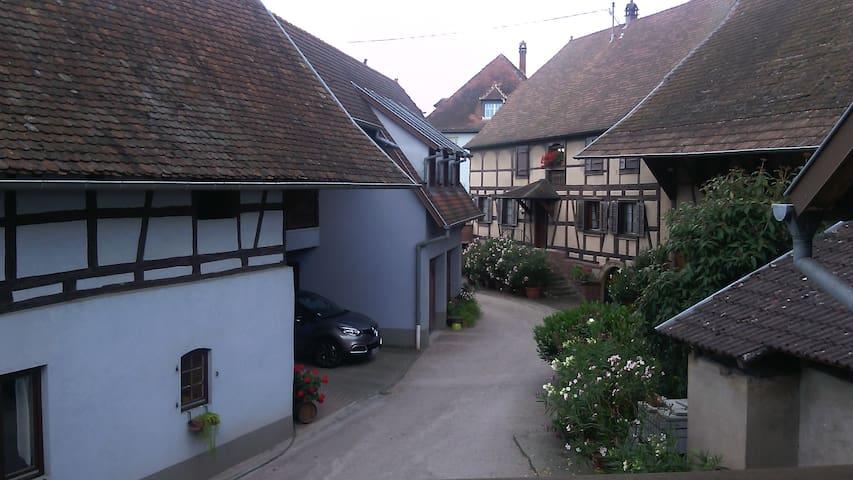 Alsace ; Idéal pour pers à mobilité réduite